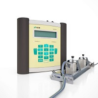 Flexim Fluxus F601 Clamp On Portable Flowmeter for Gas and Liquid Flow