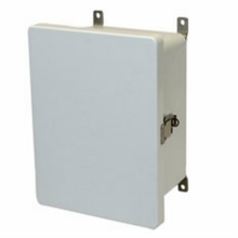 Metal Snap Latch Hinged Solid/Opaque Cover