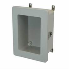 Metal Snap Latch Hinged Window Cover