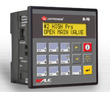 ** M91-2-RA22 ** - 24VDC, 12 Digital Inputs, 2 temperature measurement inputs, high-speed counter/shaft encoder input, 8 relay inputs, 2 analog inputs, I/O Expansion Port and a RS232/RS485 Port.
