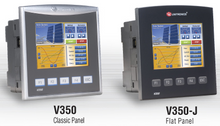 ** V350-35-TR20 ** - 24VDC, 12 Digital Inputs, 2 Analog, 3 HCS/shaft-encoder Inputs, 6 Relay Outputs, 2 High Speed npn Transistor OutPuts, 1 built-in RS232/RS485 Port and CANbus