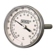 "Bi-Metal Thermometer 2"" Back Mount"