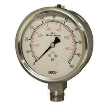Wika Bourdon Tube Pressure Gauges Stainless Steel Series