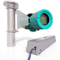 Flexim Fixed Fluxus F808 Hazardous Area Flowmeter for Gases