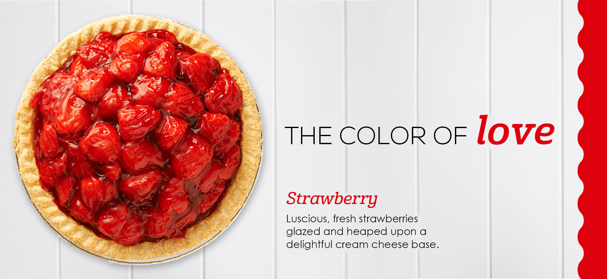 Strawberry Pie – The color of love!