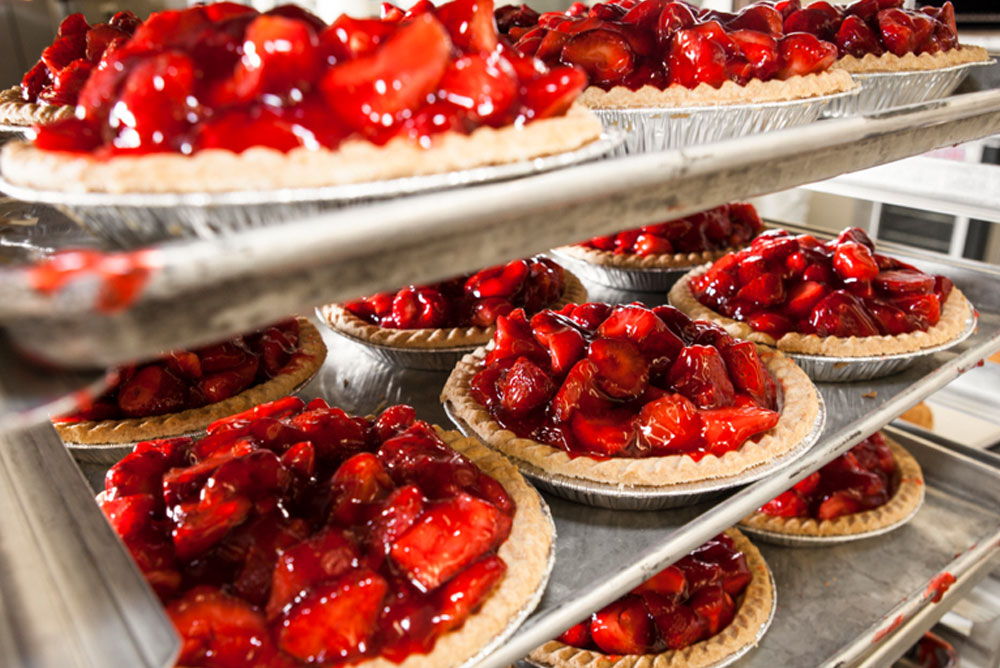 Fresh Strawberry Pies