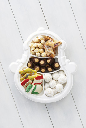 Snowman Cookie Tray