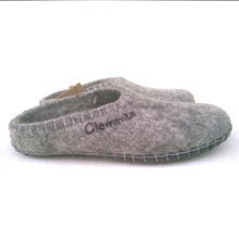Felted Wool Slippers from Clemente