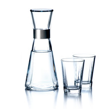 Grand Cru Water Carafe and Glasses from Rosendahl.