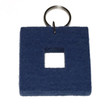 Felted Key Chains in Jean Blue by Verso