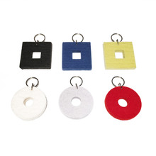 Felted Key Chains by Verso