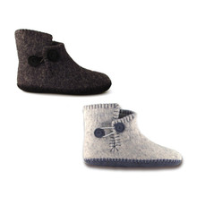 Felted Slipper Boots | Sizes not currently in stock