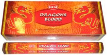 (SET OF 6) Dragon's Blood Incense, 20 Grams