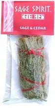 Desert Sage & Cedar Smudge Stick, 5 inch packaged