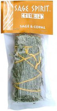 Desert Sage & Copal Smudge Stick, 5 inch packaged