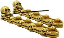 (SET OF 2) Incense Burner: Skulls and Bones