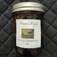 Hoodoo Honey Jar for Money Drawing