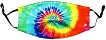 Tie Dye Swirl Face Mask