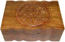 Wood Box: Tree of Life, 4x6 inch