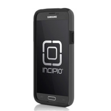SAMSUNG GALAXY S5 INCIPIO DUALPRO HARD SHELL CASE WITH SILICONE CORE - CHARCOAL GRAY AND OBSIDIAN BLACK