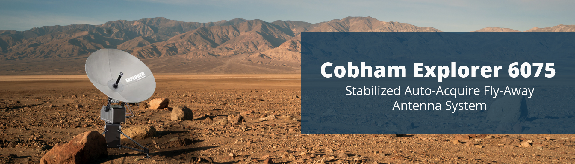Cobham Explorer 6075