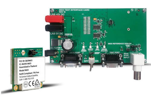 (1) 9603N Transceiver (1) Test Interface Board (1) AC/DC Power Supply Cable (1) U.FL to SMA Adapter (1) Documentation CD
