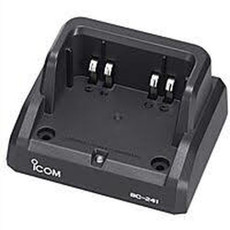 ICOM Sat 100 Rapid Bay Charger with Multi-Plug AC Adapter