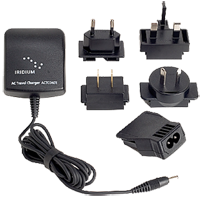 Iridium A/C Travel Charger and International Plug Kit