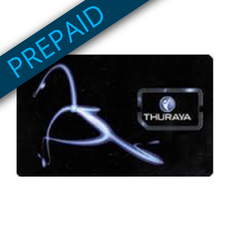 Thuraya Prepaid 30GB Plan