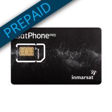 Inmarsat 1,000 Unit Prepaid SIM Card