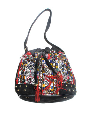 G2862 Vintage Fabric Shoulder Bag
