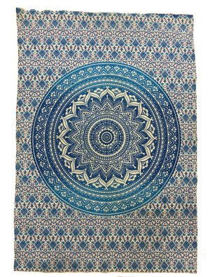 TCB12 Blue Circle Small Tapestry