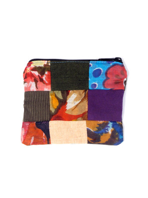 G613 Patchwork Coin Purse