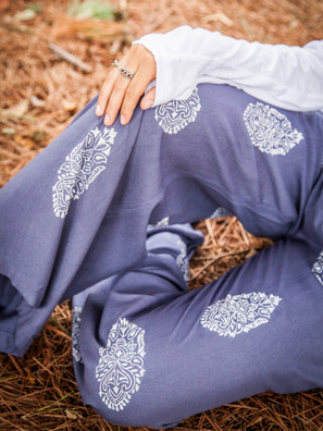 918 Block Print Lounge Pants