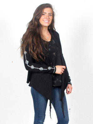 5596 Embroidered Cardigan