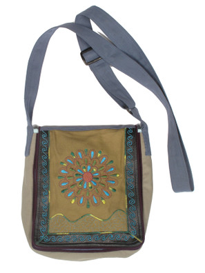 G1052 Sunburst Flap Bag