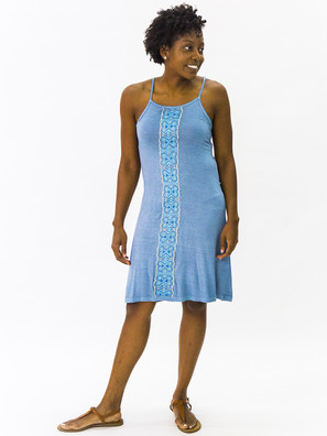 5906 Embroidered Cocktail Dress