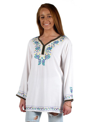 5963 Embroidered Kurta