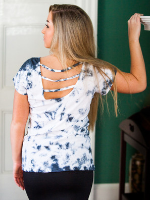 5965 Strappy Back Tee