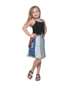 1027K Cargo Pocket Girls' Skirt