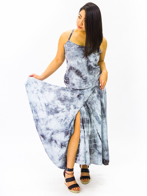 1515 Wrap Skirt Tie Dye Dress