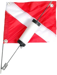 Two Peice Pro Float With Dive Flag