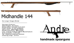 Andre Euro MidHandle 144 Enclosed (120cm Band Stretch)