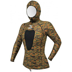 IST Brown Camo Rash Guard