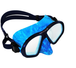 Apnea Camo Mask - Blue