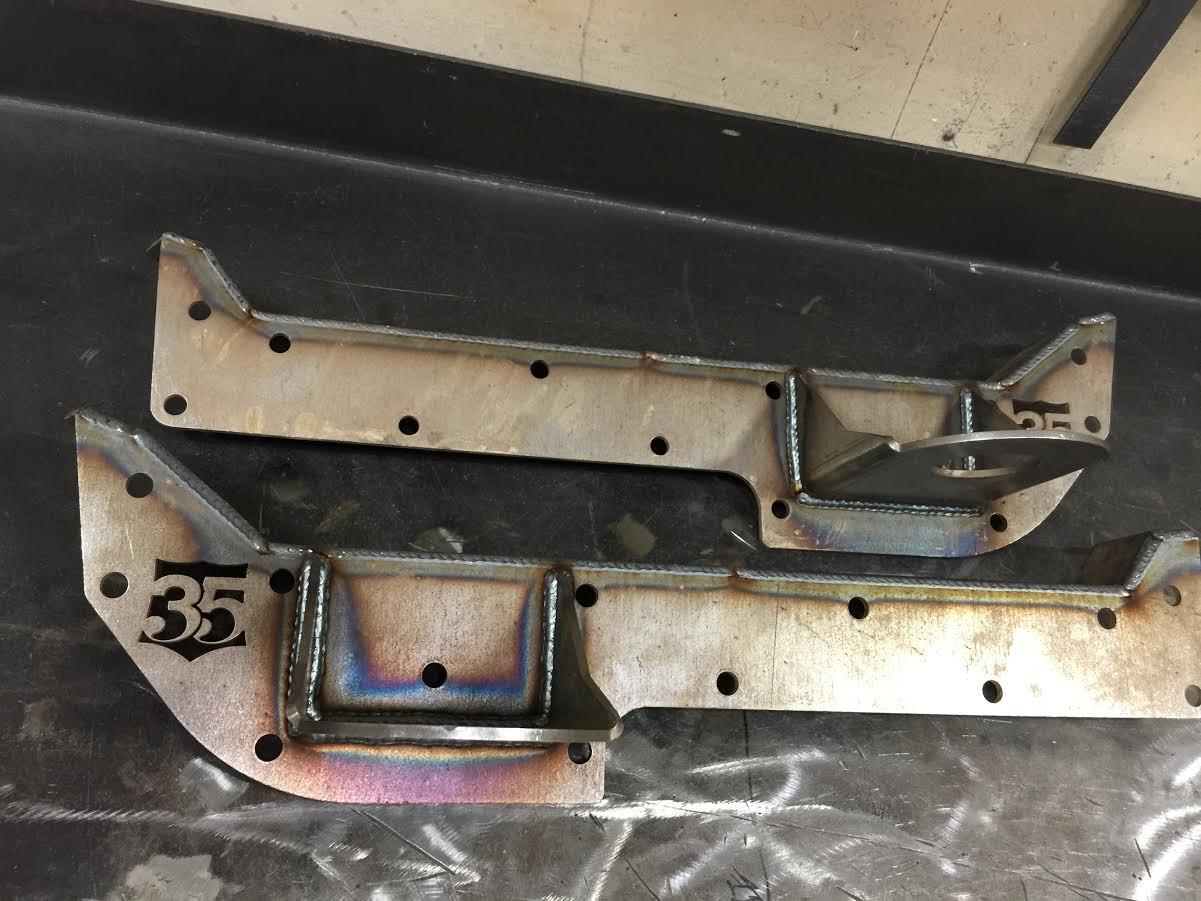 Squarebody C10 bolt on body drop kit