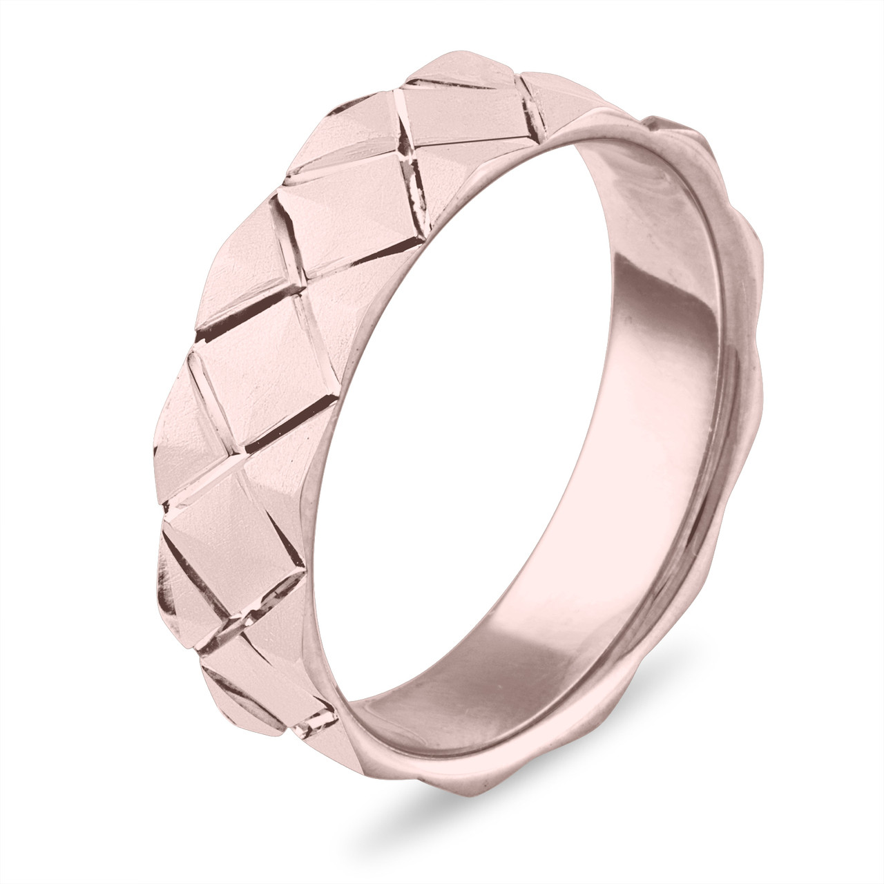 Mens Rose Gold Wedding Band.Wedding Band Rose Gold Mens Wedding Band Womens Wedding Ring 6 Mm Matte Finish Wedding Band Unique