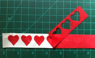 Hearts and Upright Heart Cutout Trim