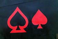 Double Spade Symbol Overlay