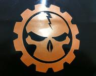 Toothless Lightning Gear Skull Overlay